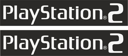 """Picture of """"Play Station 2"""" Track and street race sponsor logo"""