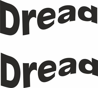 "Picture of ""dread"" Track and street race sponsor logo"