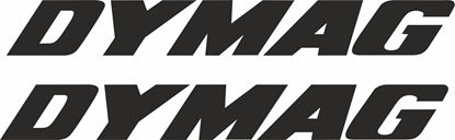 "Picture of ""Dymag"" Track and street race sponsor logo"