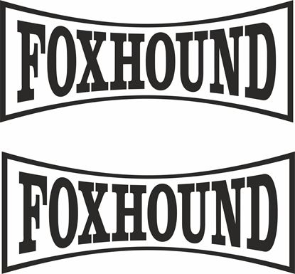"Picture of ""Foxhound"" Track and street race sponsor logo"