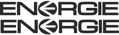 """Picture of """"Energie"""" Track and street race sponsor logo"""