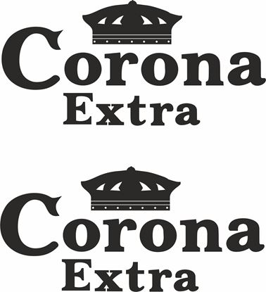 "Picture of ""Crona Extra"" Track and street race sponsor logo"
