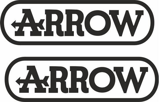 "Picture of ""Arrow"" Track and street race sponsor logo"