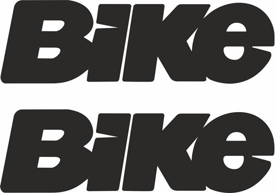"""Picture of """"Bike"""" Track and street race sponsor logo"""