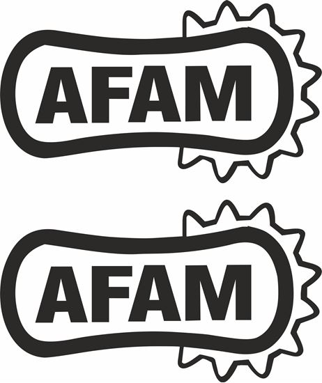 "Picture of ""Afam"" Track and street race sponsor logo"