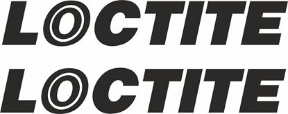 """Picture of """"Loctite"""" Track and street race sponsor logo"""