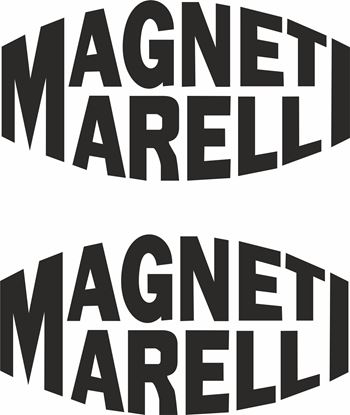 "Picture of ""Magneti Marelli"" Track and street race sponsor logo"