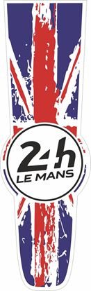 Picture of United Kingdom Le Mans 24hr Racing Bonnet Stripe Sticker