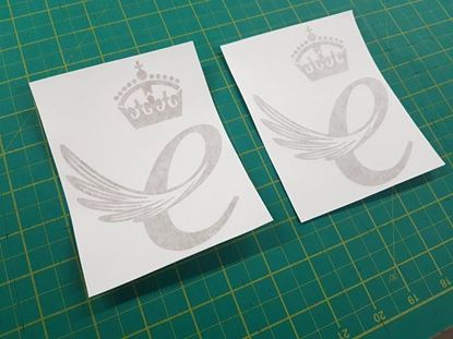 Picture of Lotus Queen's Award E Enterprise Decals / Stickers