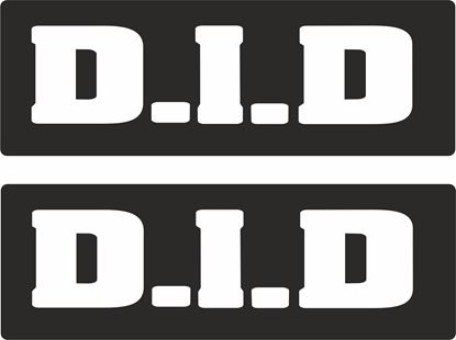 "Picture of ""D.I.D"" Track and street race sponsor logo"