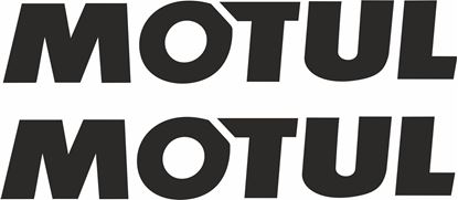 "Picture of ""Motul"" Track and street race sponsor logo"