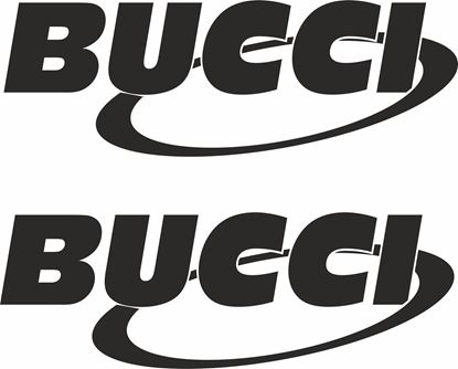 "Picture of ""Bucci"" Track and street race sponsor logo"