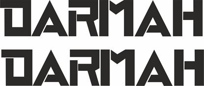"Picture of ""Darmah"" Track and street race sponsor logo"