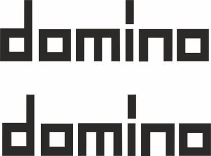 "Picture of ""Domino"" Track and street race sponsor logo"