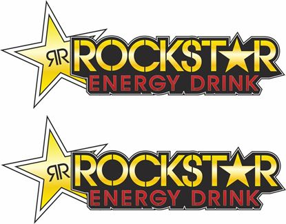 "Picture of ""Rockstar""  Track and street race sponsor logo"