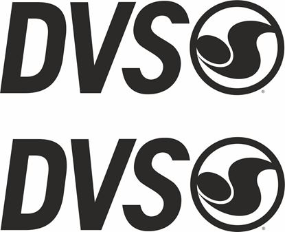 "Picture of ""DVS"" Track and street race sponsor logo"