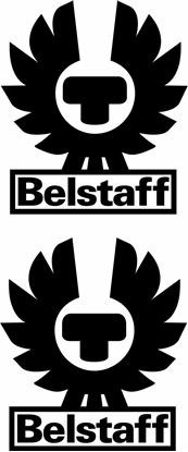 "Picture of ""Belstaff"" Track and street race sponsor logo"