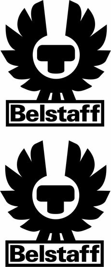 """Picture of """"Belstaff"""" Track and street race sponsor logo"""