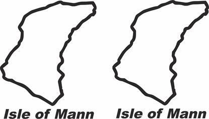 "Picture of ""Isle of Mann"" Track and street race sponsor logo"