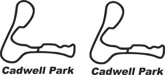 """Picture of """"Cadwell Park"""" Track and street race sponsor logo"""