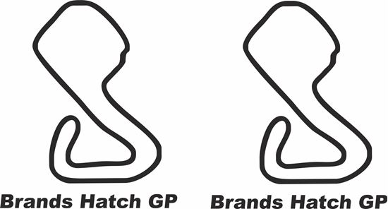"""Picture of """"Brands Hatch GP"""" Track and street race sponsor logo"""