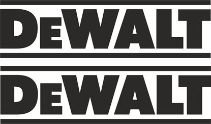 "Picture of ""DeWalt"" Track and street race sponsor logo"