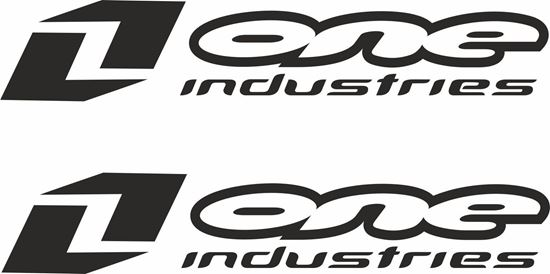 """Picture of """"One Industries"""" Track and street race sponsor logo"""
