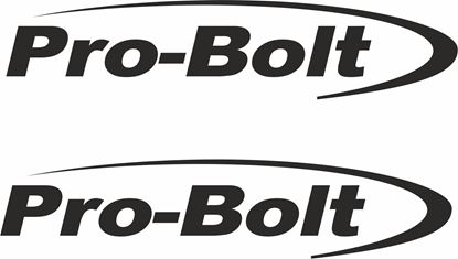 "Picture of ""Pro Bolt"" Track and street race sponsor logo"