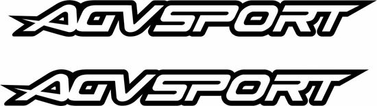 "Picture of ""AGV Sport"" Track and street race sponsor logo"