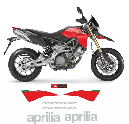 Picture of Aprilia Dorsoduro 750 2009 Replacement Decals / Stickers