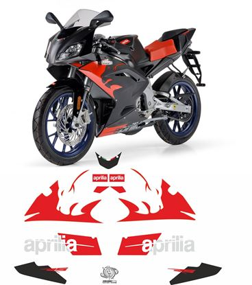 Picture of Aprilia RS50 R Super Sport 2012  Replacement Decals / Stickers