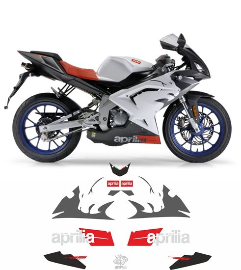 Zen Graphics Aprilia Rs50 2007 Replacement Decals Stickers
