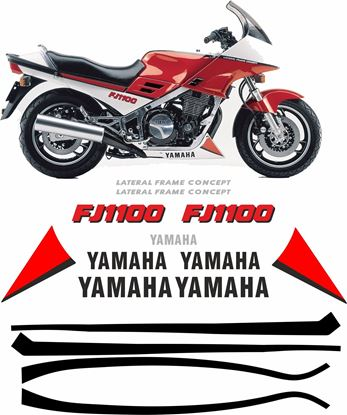 Picture of Yamaha FJ 1100 Replacement Decals / Stickers