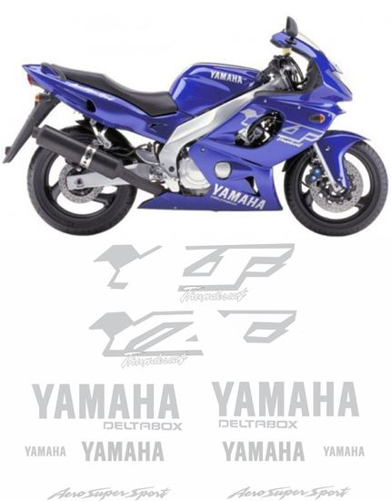 Picture of Yamaha YZF Thundercat  600R 1998 - 2001 Replacement Decals / Stickers