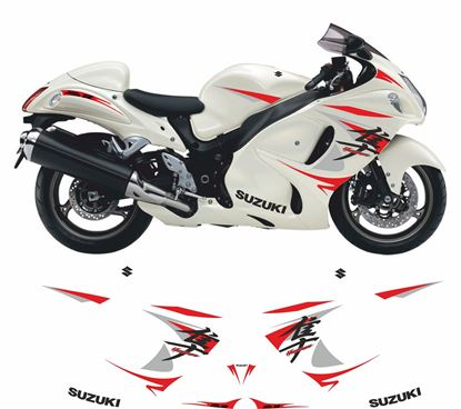 Picture of Suzuki GSX 1300R  Hayabusa All Models CUSTOM DESIGN Decals / Stickers