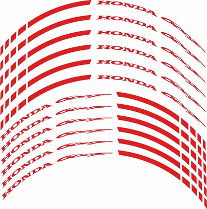 Picture of Honda CBR 600 F Wheel Rim Decals / Stickers Kit