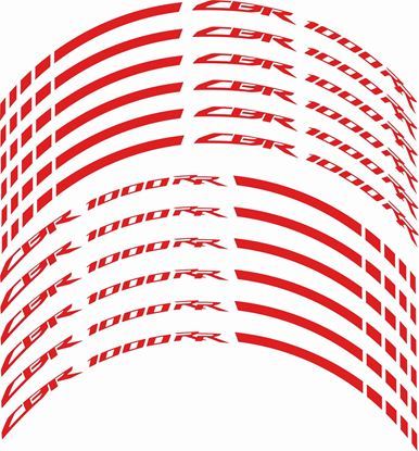 Picture of Honda CBR 1000 RR Wheel Rim Decals / Stickers Kit