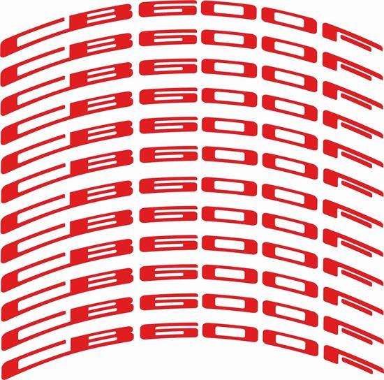Picture of Honda Hornet CB600 F Wheel Rim Decals / Stickers Kit