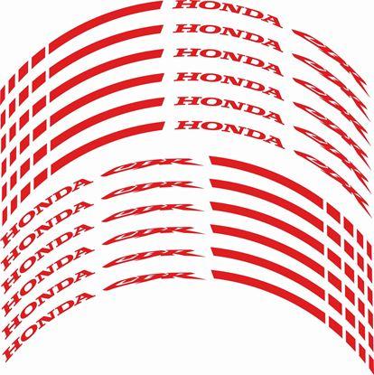 Picture of Honda CBR Wheel Rim Decals / Stickers Kit