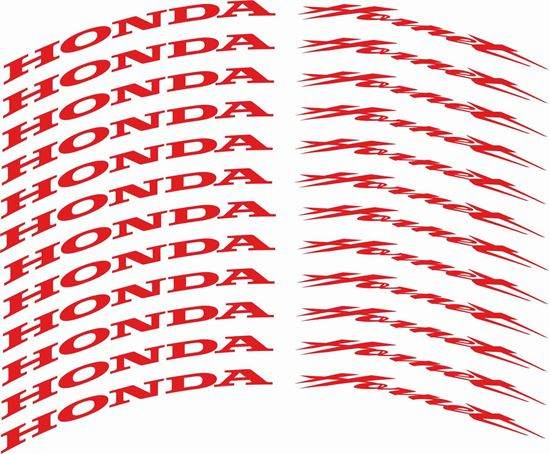 Picture of Honda Hornet 600cc - 1000cc Wheel Rim Decals / Stickers Kit