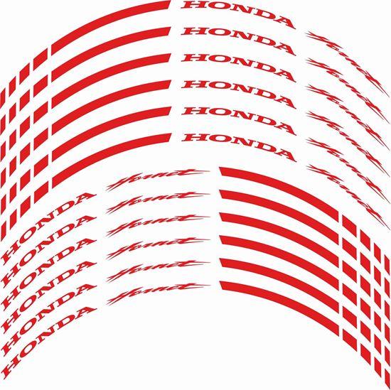 Picture of Honda Hornet 600cc - 1000cc Wheel Rim Decals / Stickers Kit