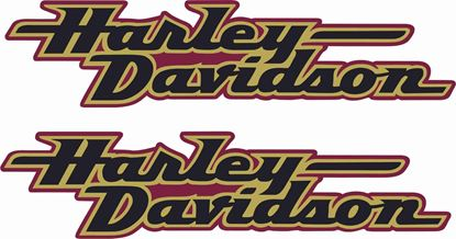 Picture of Harley Davidson FXD Tank  Decals / Stickers