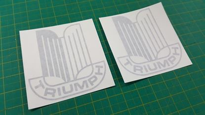 Picture of Triumph TR6 TR7 TR8 Spitfire dolomite logo Decals  / Stickers