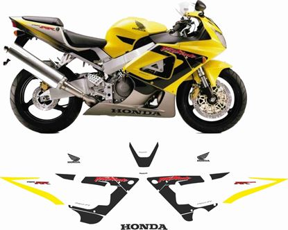 Picture of Honda CBR 929RR  2000- 2001 replacement graphics / Stickers
