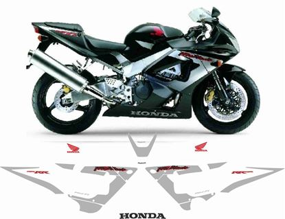 Picture of Honda CBR 929RR  2000- 2001 replacement Decals / Stickers