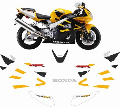 Picture of CBR 929 RR 2000 - 2001 Fireblade Replacement Decals / Stickers