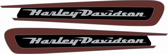 Picture of Harley Davidson Sportster XL Decals / Stickers