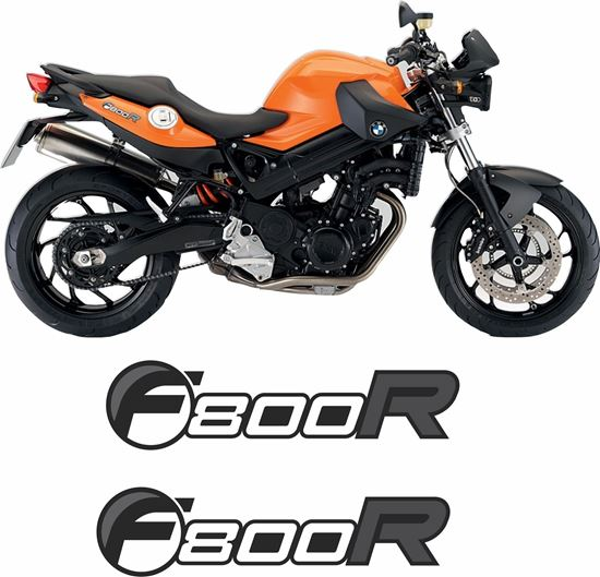 Picture of BMW F 800R  2009 Replacement tail Decals / Stickers
