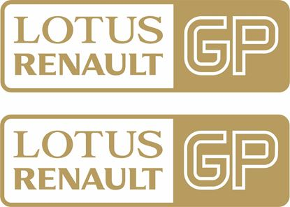 Picture of Lotus Renault GP panel or glass  Decals / Stickers