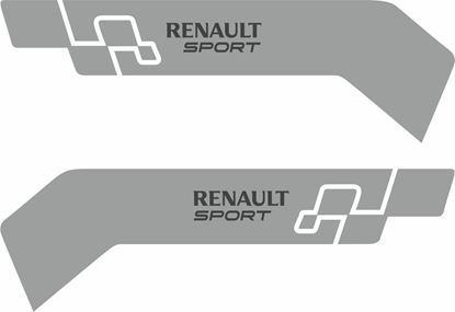 Picture of Renault Sport front wing Decals / Stickers